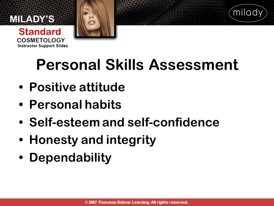 Personal Skills Assessment
