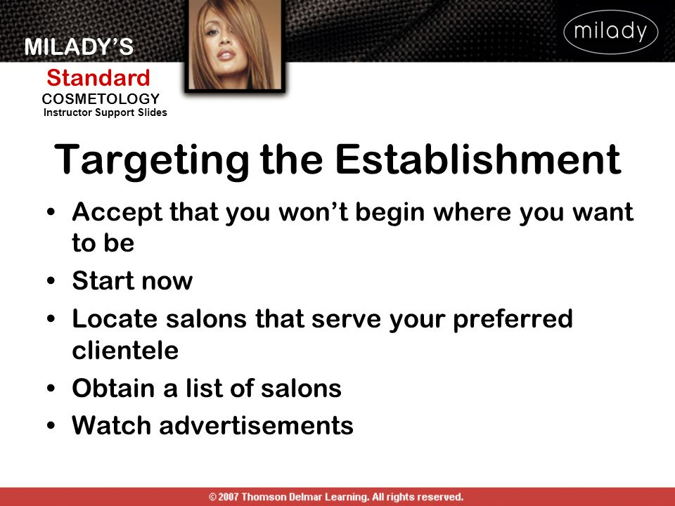 Targeting the Establishment