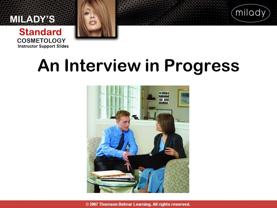 An Interview in Progress