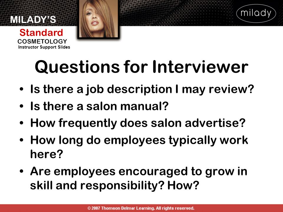 Questions for Interviewer