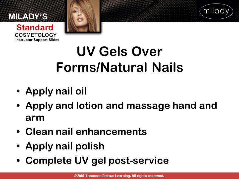 UV Gels Over Forms/Natural Nails