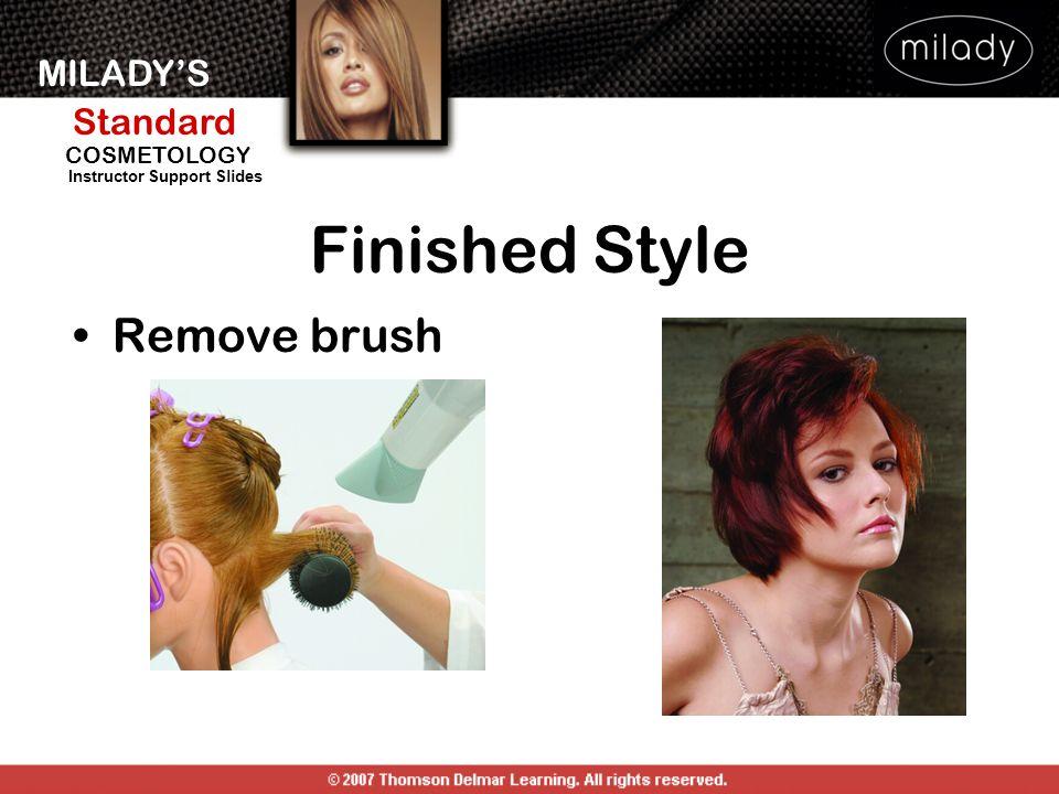 Finished Style Remove brush