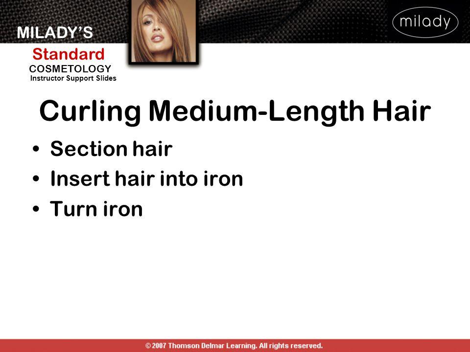 Curling Medium-Length Hair