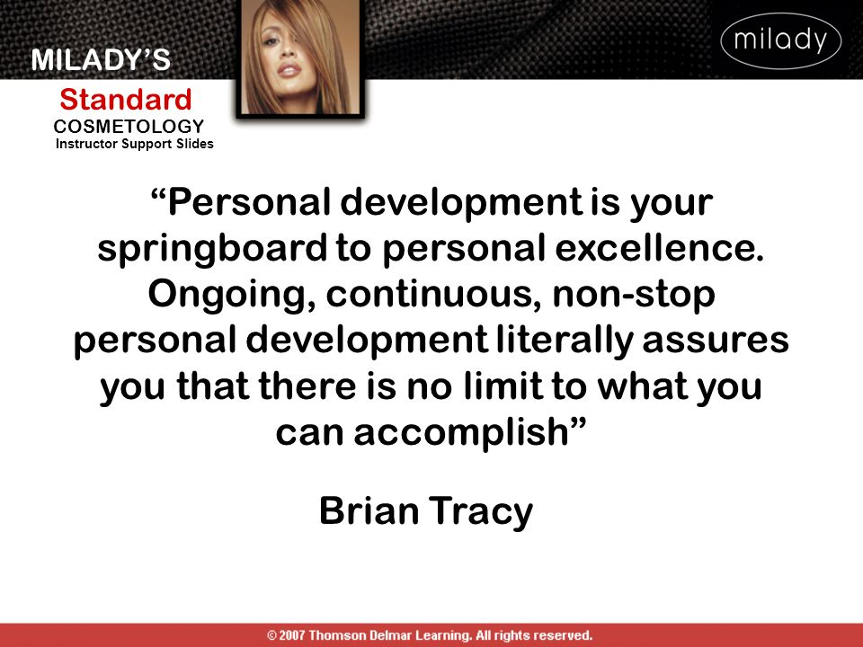 Personal development is your springboard to personal excellence