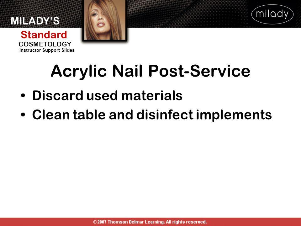 Acrylic Nail Post-Service