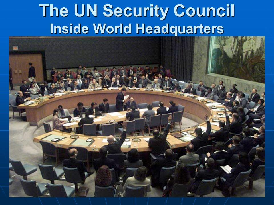 The UN Security Council Inside World Headquarters
