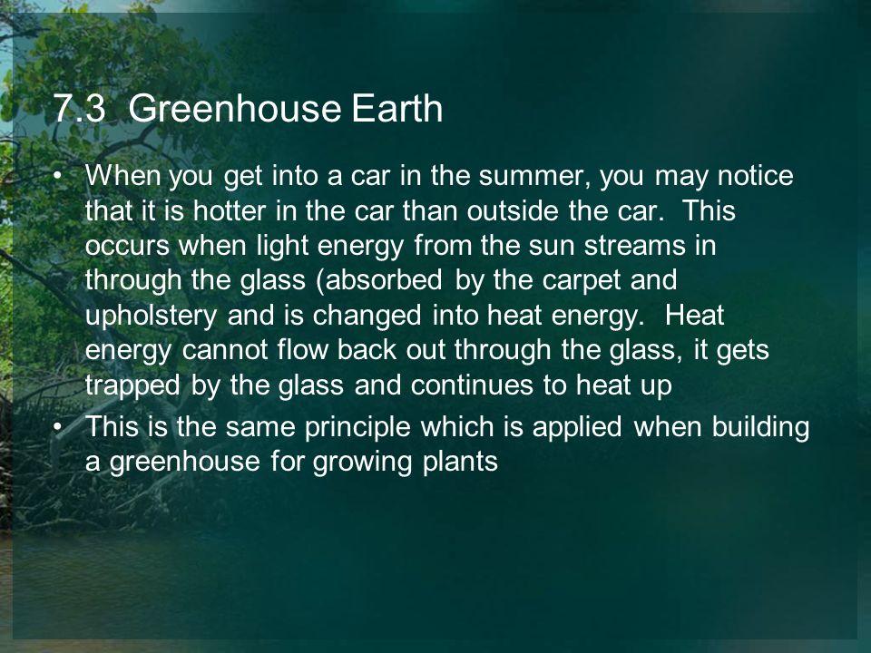 7.3 Greenhouse Earth