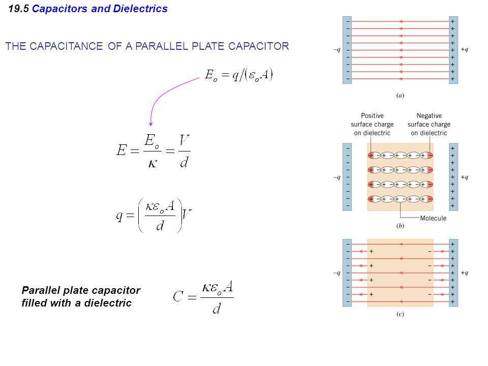 19.5 Capacitors and Dielectrics