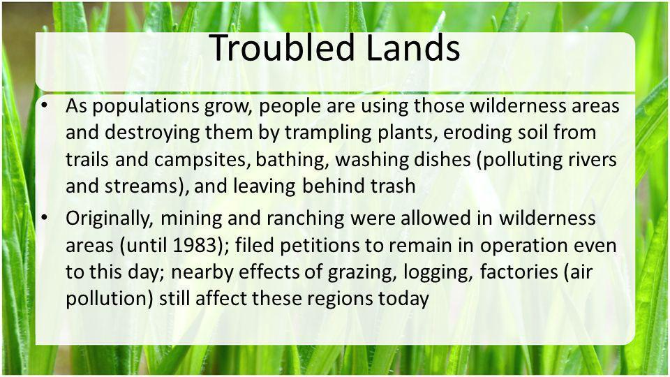 Troubled Lands