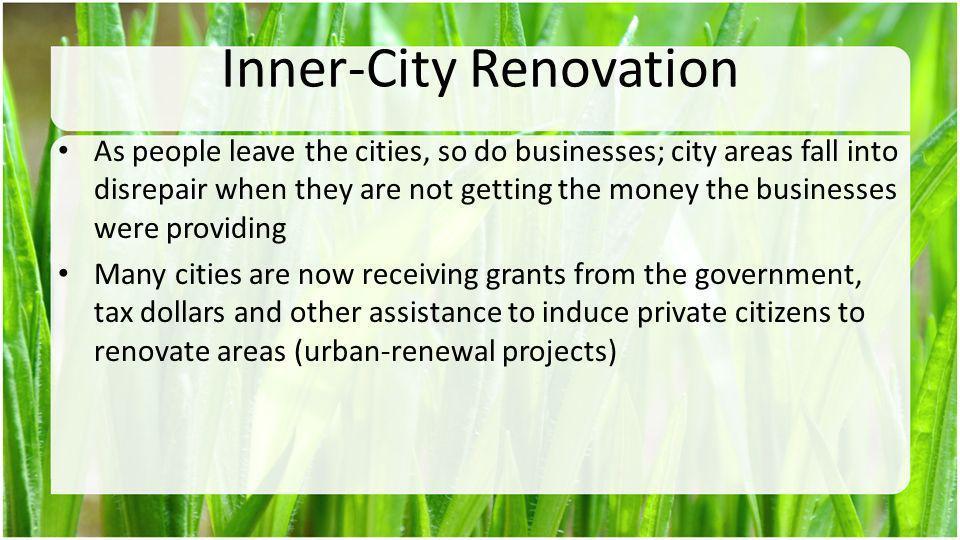 Inner-City Renovation
