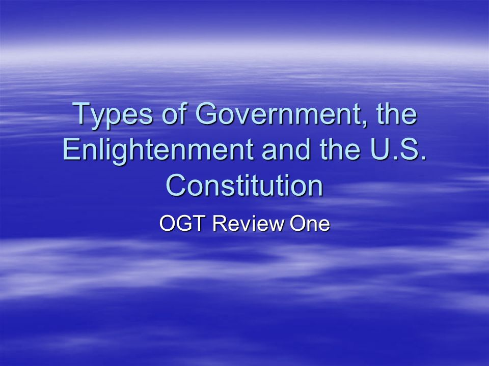 enlightenment and constitution The constitution uses ideas from philosophers from the enlightenment era for example, john locke's ideas on securing life, liberty and property and montesquieu's ideas on separation of powers and checks and balances that what caused the american revolution the constitution uses ideas from.