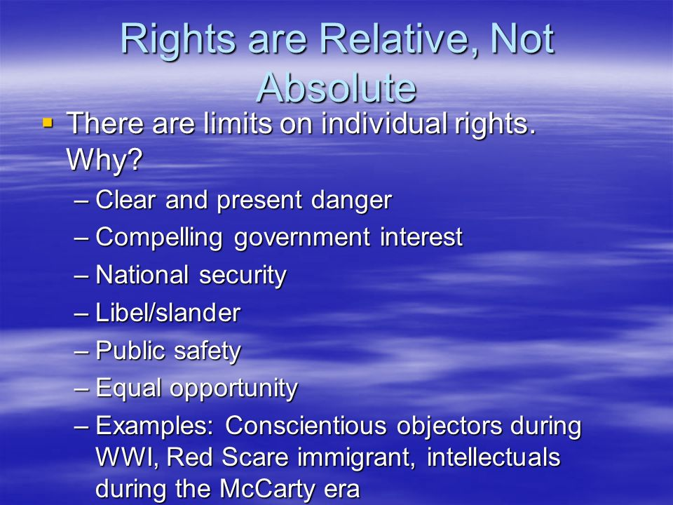 demands national security vs individual rights Was it illegal for trump to revoke brennan's security clearance the president not only violated the former cia director's first amendment rights but also made it harder for the government .