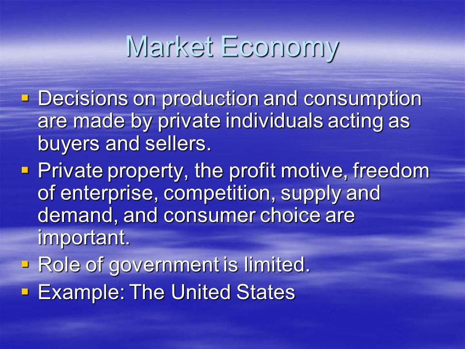 the growth of private property market in the united states Hill: private property allows us to do things that benefit others—to take  and  powerless will do better in a regime of private property and markets than they will  in a  states, you do not want to let your piney woods get old, because old- growth.