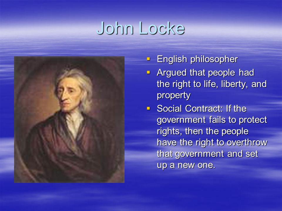 John Locke English philosopher