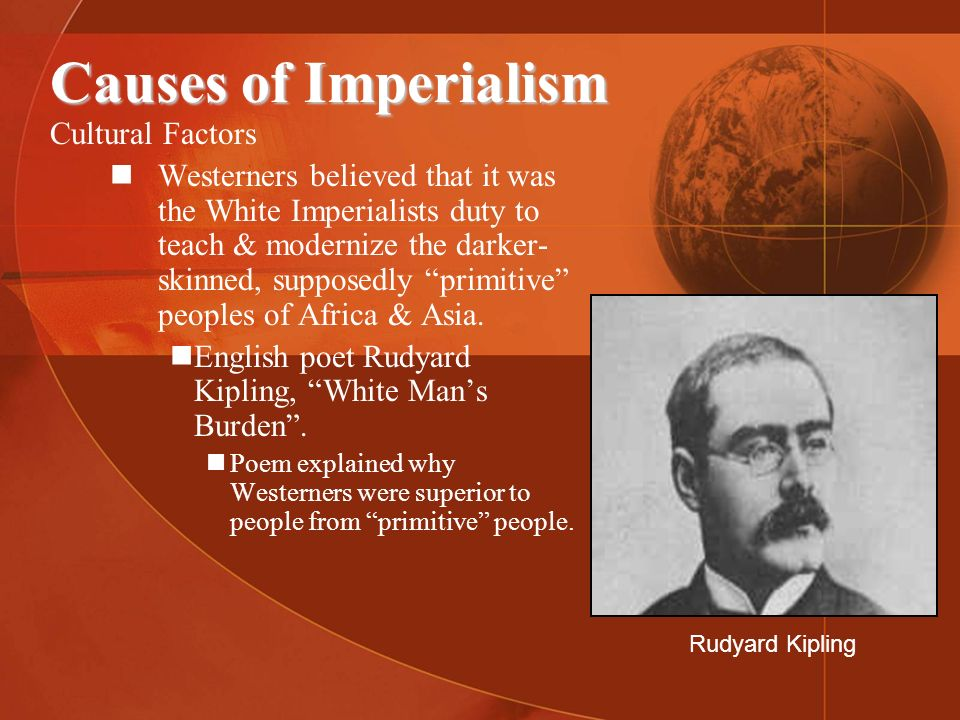 Causes of Imperialism Cultural Factors