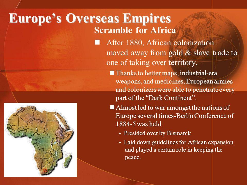 Europe's Overseas Empires