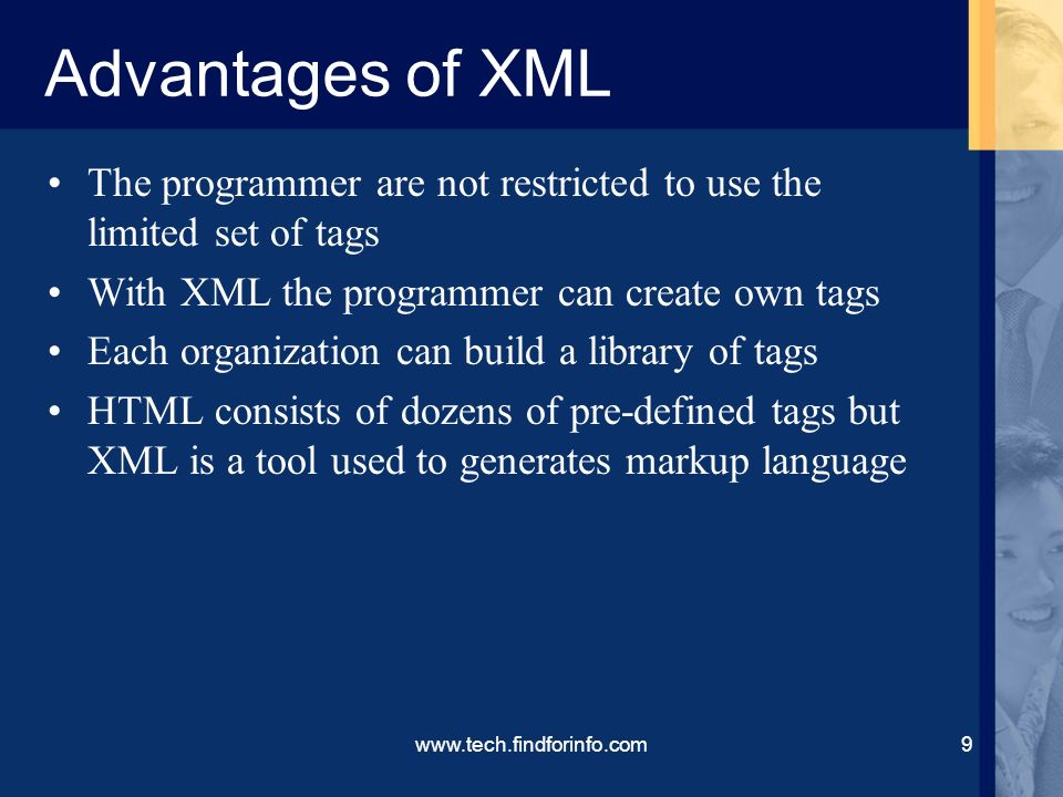Introduction to XML History of XML Advantages of XML ppt download – Xml Programmer