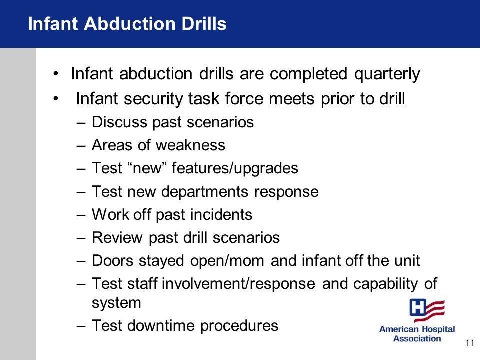 Infant Abduction Drills