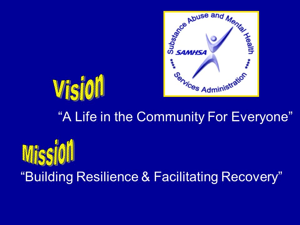 Vision Mission A Life in the Community For Everyone