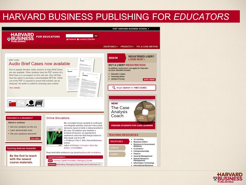 harvard case study teaching notes © 2018 harvard business school publishing all rights reserved harvard business publishing is an affiliate of harvard business school.
