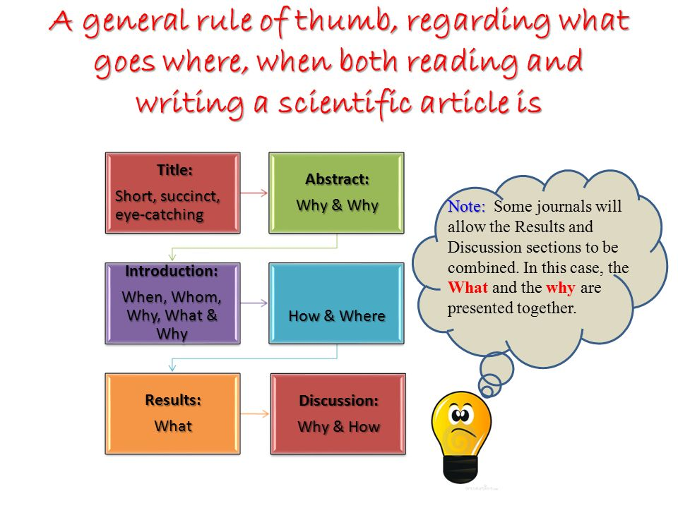 writing a science paper The scientific format may seem confusing for the beginning science writer due to its rigid structure which is so different from writing in the paper to be read at.