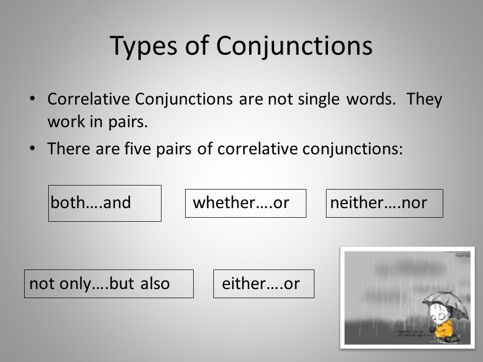 Paired conjunctions worksheets pdf
