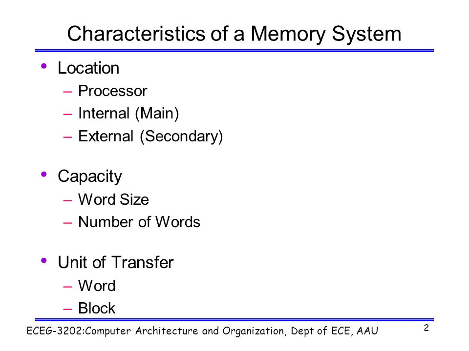 the characteristics of the numbering system at mit Database systems course home  the general architecture of a database  management system (image by  mit course number 6830 /  course  features.