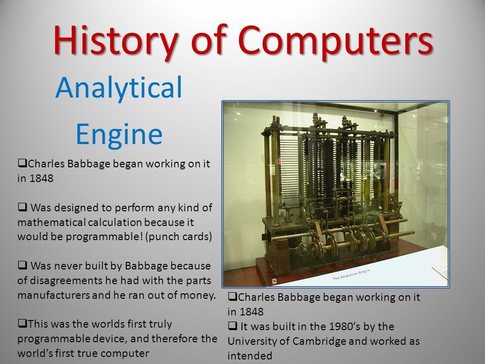 analytical engine Baden-Baden