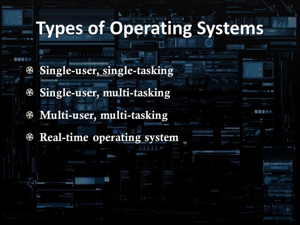 multi user operating systems essay Even when the systems are idle, any user input activity that intersects with these events will experience delay the scheduler design determines just how much delay.