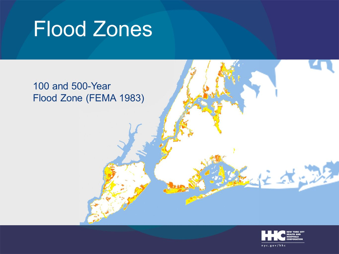 Flood Zones 100 and 500-Year Flood Zone (FEMA 1983)