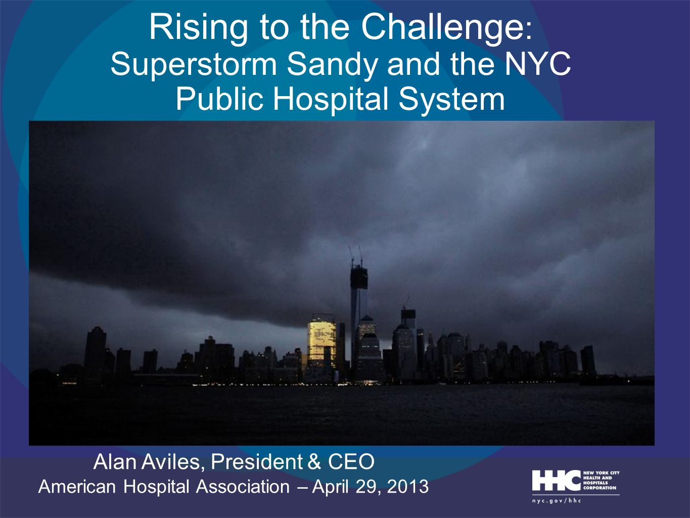 Rising to the Challenge: Superstorm Sandy and the NYC Public Hospital System