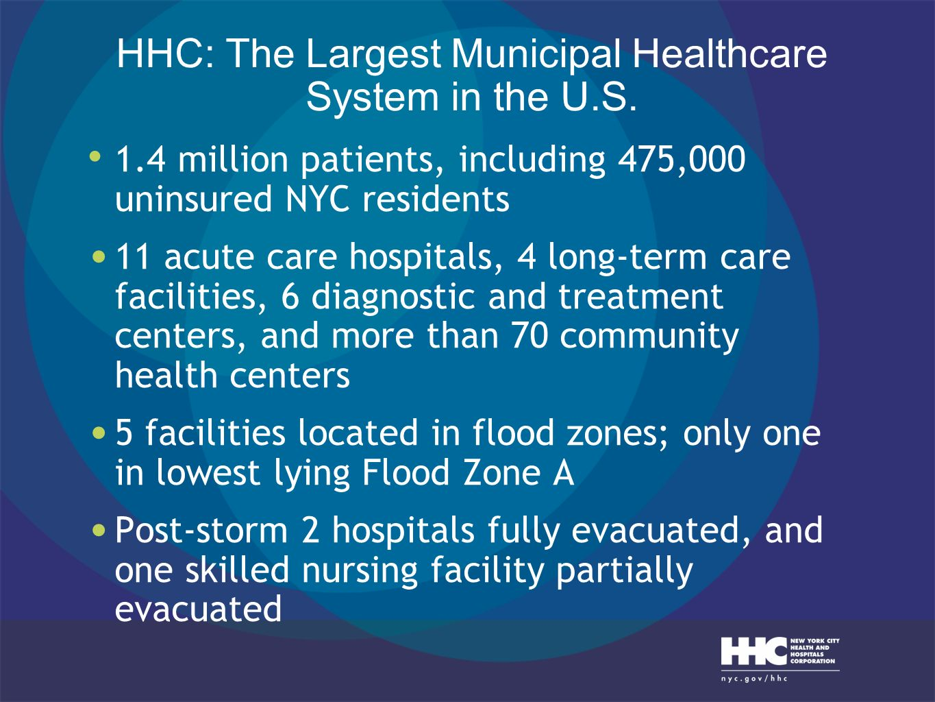 HHC: The Largest Municipal Healthcare System in the U.S.