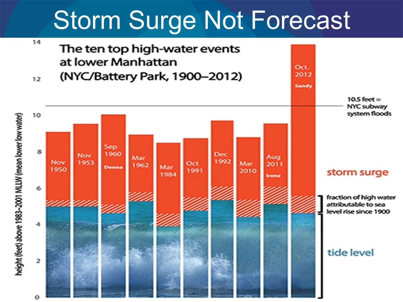 Storm Surge Not Forecast