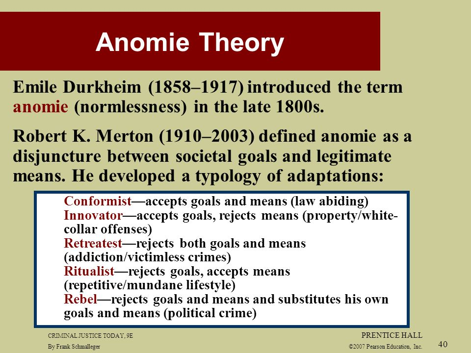 emile durkheims theory of crime and crime causation essay Law and social theory essay durkheim in as much as emile durkheim viewed society as a separately examinable entity thus in punishing a crime.
