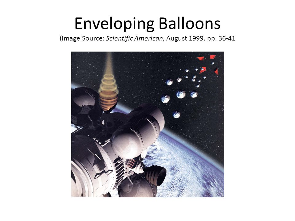 Enveloping Balloons (Image Source: Scientific American, August 1999, pp. 36-41