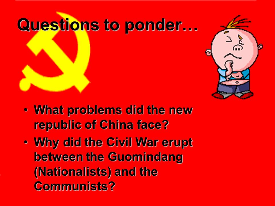 why did the chinese communist win Start studying communist china learn vocabulary makeith13 communist china study play why were the communists able to take over china they won the peasant support how did communists win over the peasants they promised who emerged as the new leader of the communist party deng.