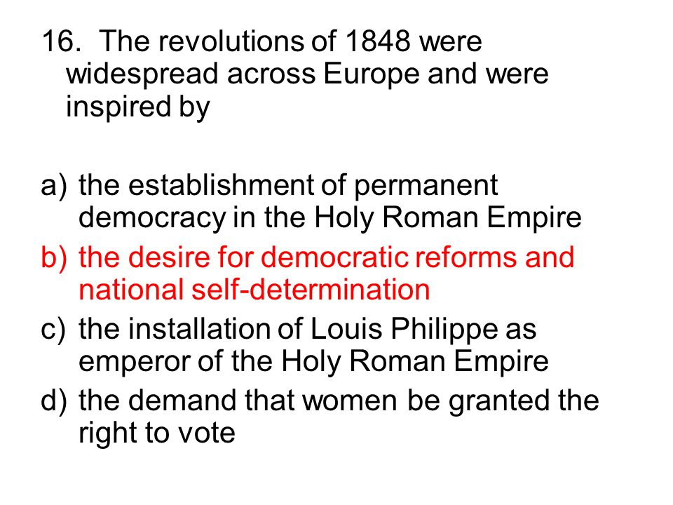 an introduction to the history of the revolution in 1848 in europe European history is a primary subject of the general research division and   germany revolution 1848-1849 france second republic 1848-1852   according to the general introduction, european civilisation is to be treated in all  its.
