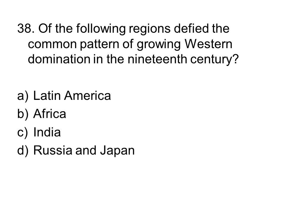Ap World History Multiple Choice Questions Time Period
