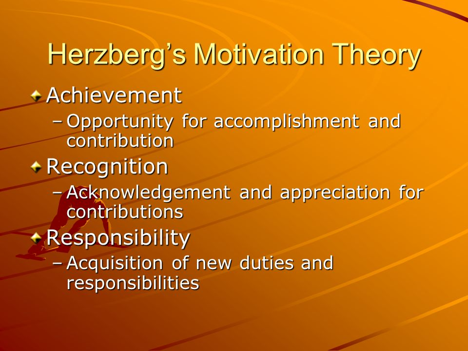 Herzberg's Motivation Theory