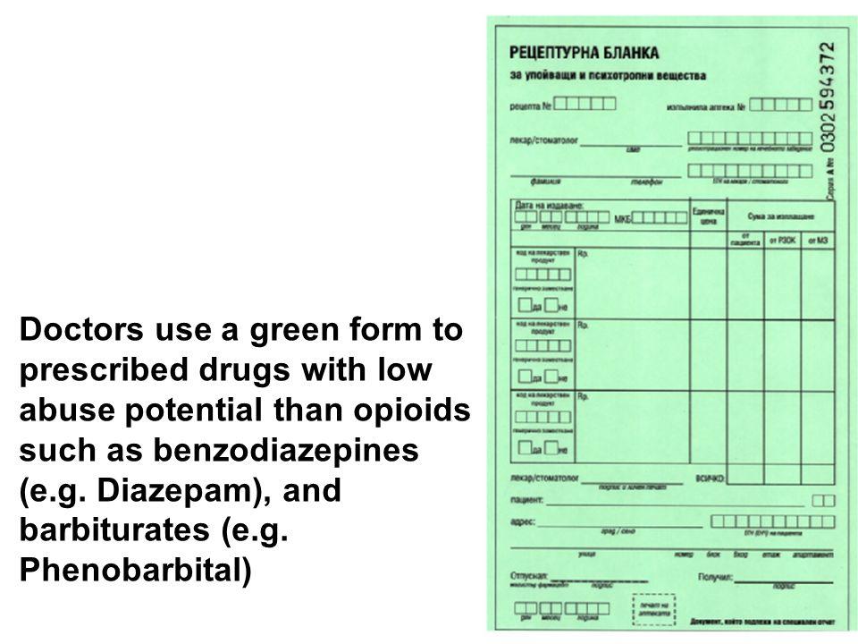 prescription sheet