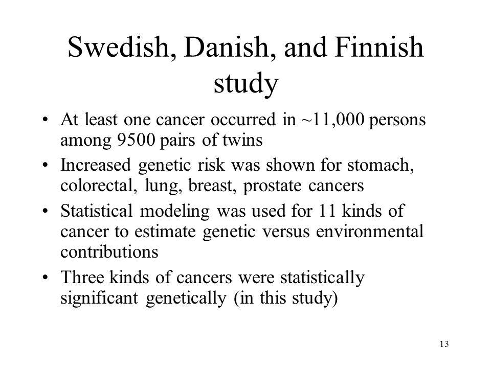 Swedish, Danish, and Finnish study