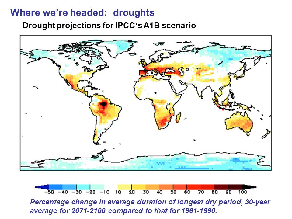 Where we're headed: droughts
