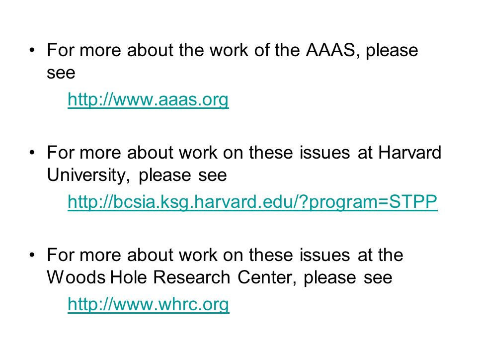 For more about the work of the AAAS, please see