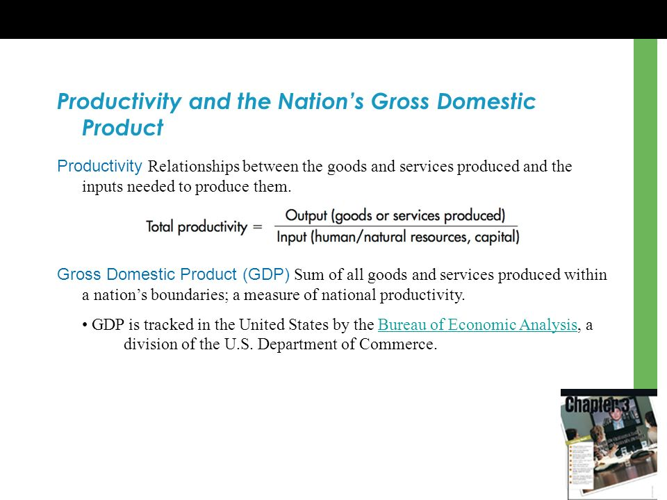 Chapter 3 economic challenges facing global and domestic - Bureau of economic analysis us department of commerce ...