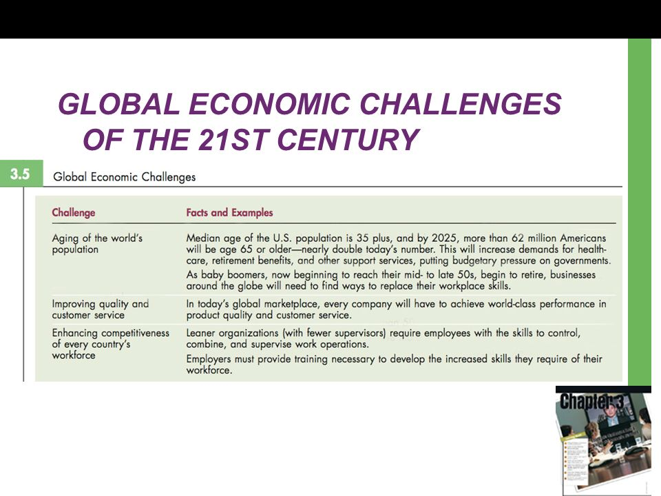 the challenges associated with globalization in the 21st century Globalization and the role of the state: challenges and perspectives guido bertucci and adriana alberti∗ globalization is a term which has been used to describe and explain many worldwide.