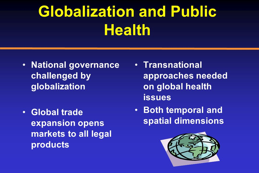 Globalization and Public Health