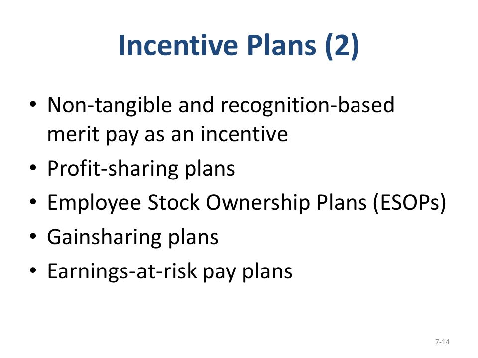 the use of merit and pay incentives to increase work productivity Pluses and minuses of variable pay rewarding employees who increase productivity or efficiency provides incentive merit pay consists of an increase in.