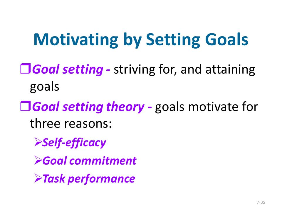 a theory of goal setting and task performance pdf