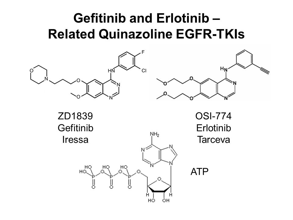 Gefitinib and Erlotinib – Related Quinazoline EGFR-TKIs