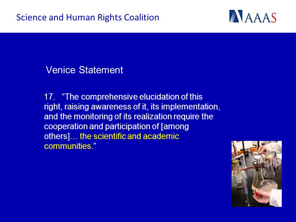 Science and Human Rights Coalition